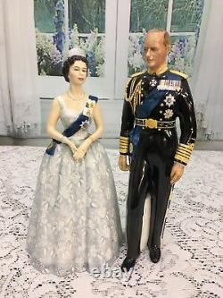Rare Royal Doulton Figurine Queen Elizabeth II Limited Edition Coronation Anniv