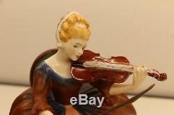 Royal Doulton Figurine Lady Musicians Series Violin Limited Edition No. No 456
