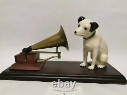 Royal Doulton HMV nipper dog and gramaphone figurine 348/2000 Limited Edition
