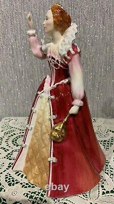 Royal Doulton Lady Queen Elizabeth The 1st Model Hn 3099 Ltd Ed Perfect