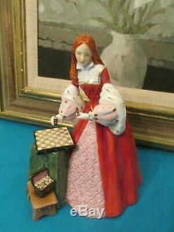 Royal Doulton Princess Elizabeth Tudor Roses series HN 3682 Ltd. Edition