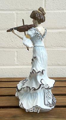 Royal Doulton -first Violin- Hn3704 Ltd Ed' Edwardian String Quartet Lady Figure