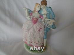 Royal Worcester Figurine 1996 THE FLIRTATION RW4614 RARE LIMITED EDITION