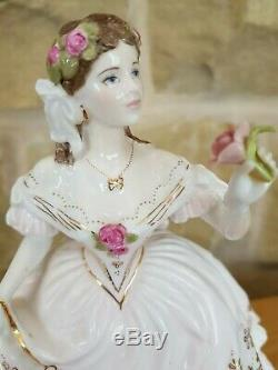 Royal Worcester The Fairest Rose Bone China Limited Edition Figurine