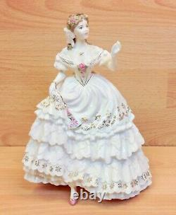 Royal Worcester Victorian Era Series The Fairest Rose Limited Edition Figure