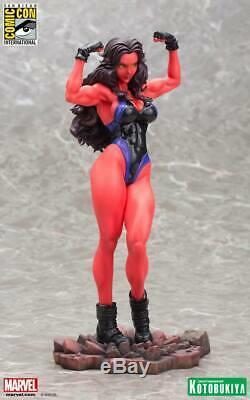 SDCC 2015 KOTOBUKIYA RED SHE HULK BISHOUJO STATUE Marvel LIMITED EDITION 1500 PC