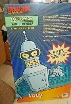 SHOGUN WARRIORS Limited Edition Futurama Jumbo Bender