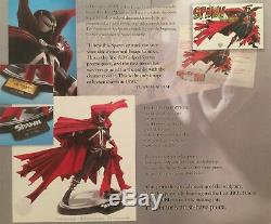 SPAWN The Beginning LTD Edition Resin Statue signed by Todd McFarlane NEW