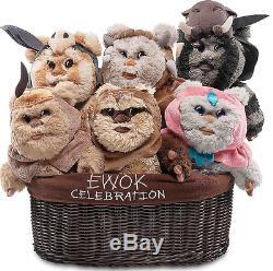 STAR WARS Ewok Celebration Limited Edition Plush Set Star Wars 9''/22.9cm