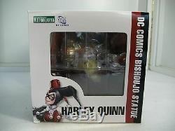 Sdcc 2013 Kotobukiya Bishoujo Harley Quinn Unmasked Statue Ltd. Ed. Misb