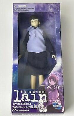 Serial Experiments Lain Urban Doll Figure 1998 Toynami RARE LIMITED EDITION