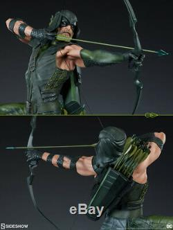 Sideshow Collectibles DC Jla Green Arrow Exclusive Premium Format Ltd 1500