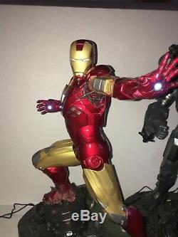 Sideshow Exclusive Iron Man Maquette Statue Limited Edition With Name Plate