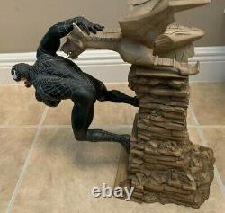 Sideshow Venom Spiderman 3 Statue Limited Edition # to 1500 in Original Box READ