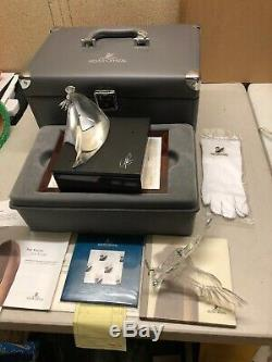 Swarovski Crystal 1995 Limited Edition Figurine THE EAGLE In Box withCOA, READ