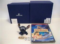 Swarovski Disney 2012 Limited Edition Stitch + 2 Disc Movie Set 1096800 Bnib