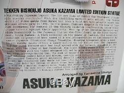 TEKKEN BISHOUJO ASUKA KAZAMA LTD ED. OF 1500 Rare Red and Black outfit MISB