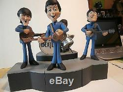 THE BEATLESfigurine Beatles -Product/McFarlane Toys ltd. Design or. Uk. 2004. Rare