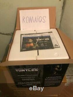 TMNT Teenage Mutant Ninja Turtles Leonardo Statue Limited Edition Playmates 2002