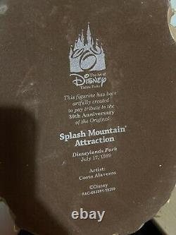 The Art of Disney 30th Anniversary Splash Mountain figurine