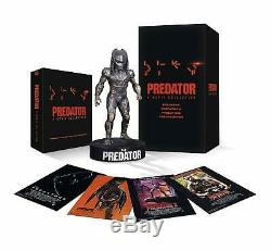 The Predator 4-Movie Collection 4K Edition withPredator Figurine / Statue (France)