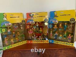 The Simpsons 2006 Limited Edition Figurine Collection Series 1, 2, 3