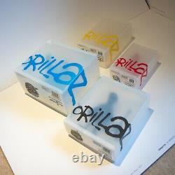 ULTRA RARE Boxed Set Gorillaz Two 2-Tone Kidrobot Figures 2D Ltd Noodle Dare