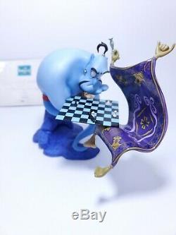 WDCC Aladdin Genie I'm Losing to a Rug Limited Edition Figurine Read Description