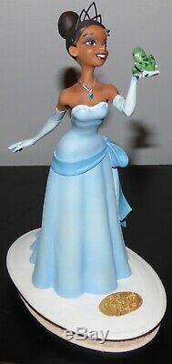 Walt Disney Princess And The Frog Tiana Limited Edition Maquette Figurine Cib