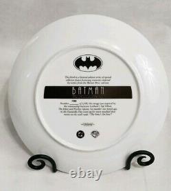 Warner Bros Joker & Harley Quinn Collector's Plate Limited Edition Batman