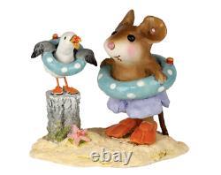 Wee Forest Folk BEACH BUDDIES, WFF# M-691a, Beach Mouse Limited Edition 2020