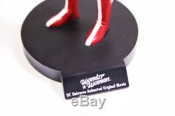 Wonder Woman Animated Movie DVD Maquette Statue Limited Edition Free Shipping