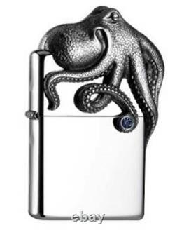 Zippo Octopus Krake 3 D Figurine acrylic Box limited Edition Neu / New OVP rar